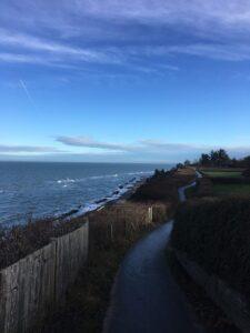 Gilbergstien ved Kattegat Nytårsretreat 2019