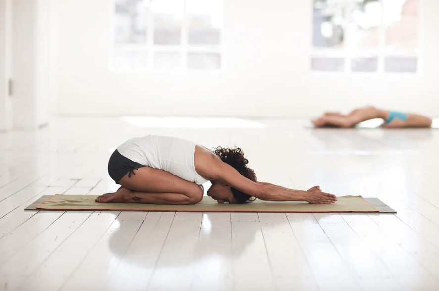 yin yoga mindfulness stress